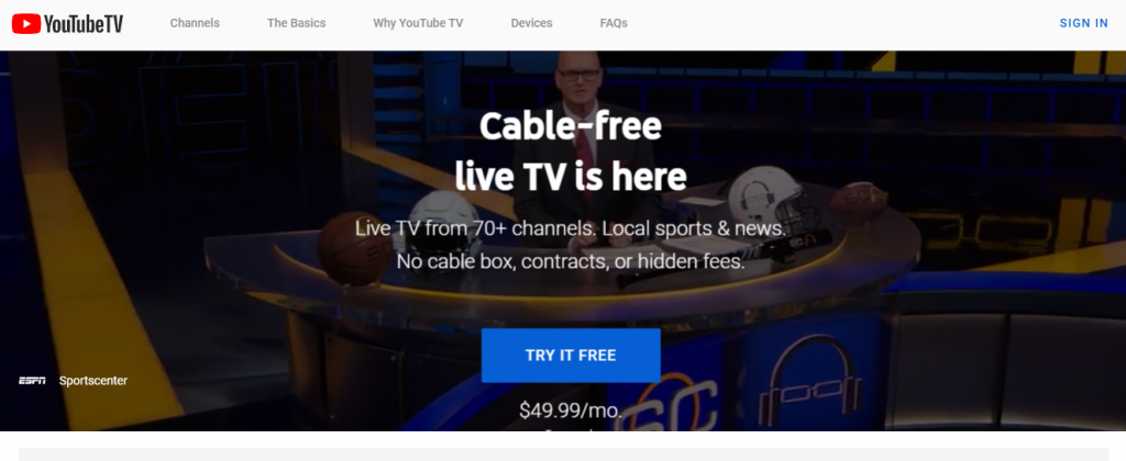 YouTube Tv (Trial) Promo Code For Existing Customers